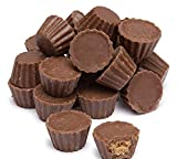 Reese's Milk Chocolate Peanut Butter Cups Minis, Unwrapped Miniatures, For Easter Baking, Snacking, Ice Cream Topping And More! Bulk Pack Of 5 Pounds