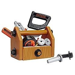 Black & Decker Pretend Play Tools & Toolbox