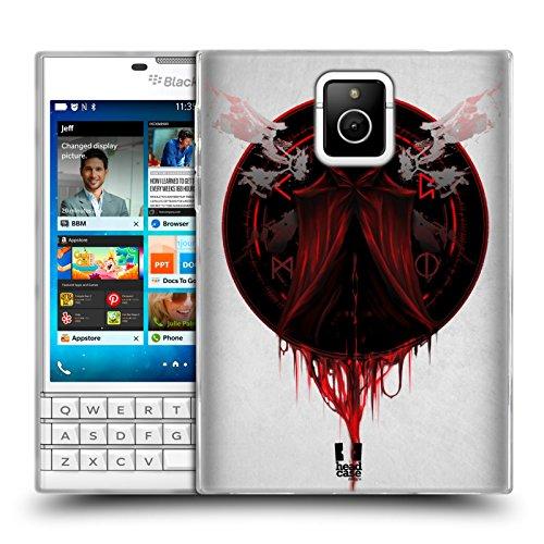 Head Case Designs Mantel Grauenhaft Soft Gel Huelle kompatibel mit BlackBerry Passport