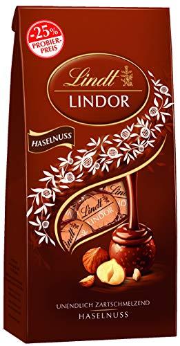 Lindt LINDOR Haselnuss Schokoladenkugeln, 137g, Promotion, 137 g