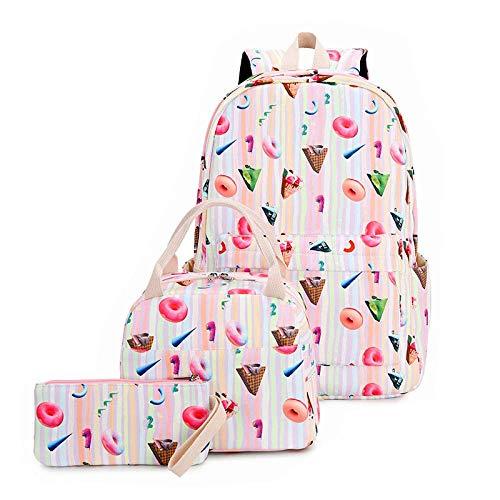 School Bags for Boys Teenage,Kids Backpack Three-Piece Backpack Waterproof Large Capacity Student Bag