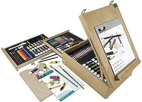 artículos novedosos Set de Pintura Artística Royal & Langnickel de 150 150 150 Piezas óleos Acuarelas Acrílicos Lapiceros y Pinceles  online al mejor precio