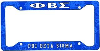 Greekgear Phi Beta Sigma Custom License Plate Frame
