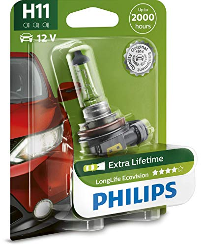 Philips H11 LongLife EcoVision Bombilla para faros delanteros