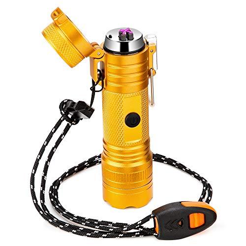 Arc Lighter Rechargeable USB Lighter Waterproof...
