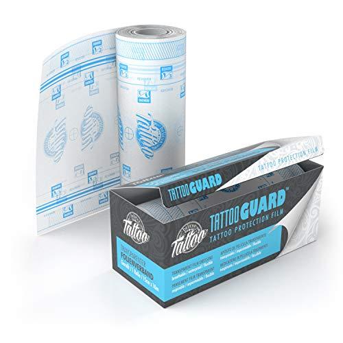 Believa Tattoo Protection Film - Transparente und Atmungsaktive Tattoo Folie für frisch tätowierte Haut - 10m x 15cm (Rolle)