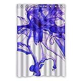Wild costumes 120 cm x 183 cm (121,9 x 182,9 cm) Badezimmer Duschvorhang, Rauch Linien Abstrakte Kunst Kreative Personalisierte Custom Wasserdicht Duschvorhang, Polyester, F, 48