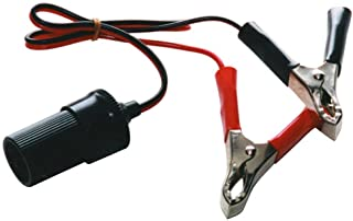 arrancador de emergencia para autom/óvil Prueba de clip de bater/ía Abrazadera de cable Conector de enchufe EC5 12V Yctze Clip de bater/ía