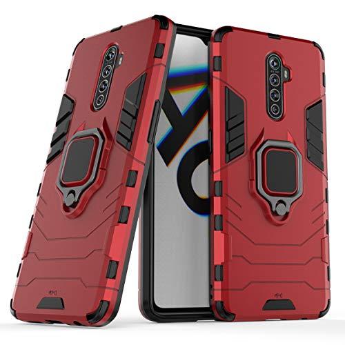 Max Power Digital Funda para móvil Realme X2 Pro (6.5') con Soporte Anillo Metálico - Carcasa Híbrida Antigolpes...