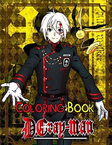[画像:D.Gray-Man Coloring Book: Your best D Gray Man character ,More then 30 high quality illustrations .D Gray Man ,Manga, Anime Coloring Book ...]