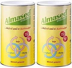 Glesaste Almased Vital - Växter - Proteinmat 2 x 500 g pulver
