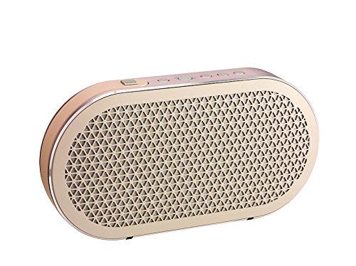 Dali - Katch Portable Bluetooth Lautsprecher - Kompakt - Akku-Spielzeit: 24 Stunden - Maximaler Schalldruckpegel: 95 dB - Aluminium-Konus mit Stoff-Staubschutzkappe - Farbe: Cloud Gray