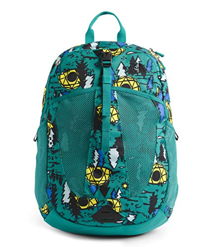 The North Face Youth Recon Squash Backpack, Jaiden Green Happy, OS