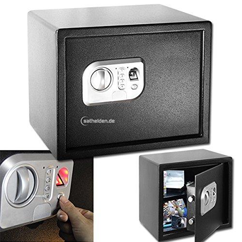 MT Vision ST-30 FP Safe Fingerprint Fingerabdruck Tresor Wand o. Boden