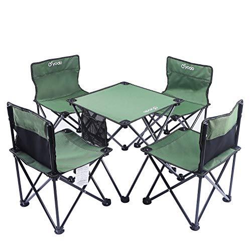 LLZY Outdoor Klapptisch Und Stuhl Set Tragbare Ultraleichte Picknick Strand Tisch Und Stuhl Kombination Wild Selbstfahrendes Auto Camping