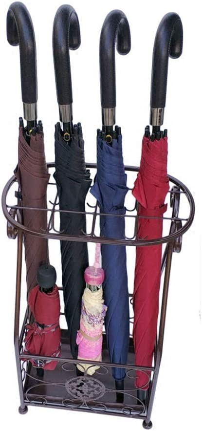 ZXQZ Umbrella Stand - Wrought Storage Japan's largest assortment sold out Rack F Iron