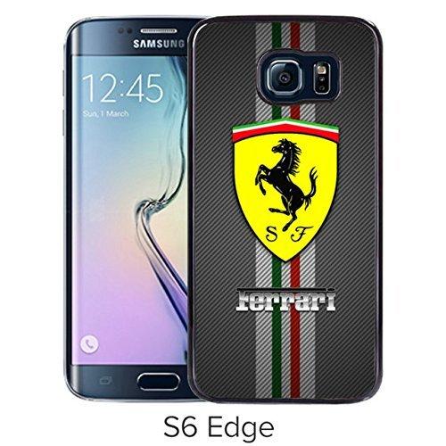 Durevole e alla moda di design con softball Forever softball infinity Forever Samsung Galaxy S6Edge Black Phone case tys-13649