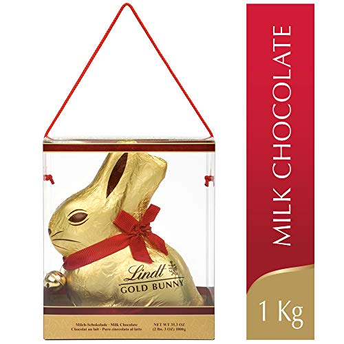 Lindt Easter Mega Gold Bunny Milk Chocolate, Gift, 1000g