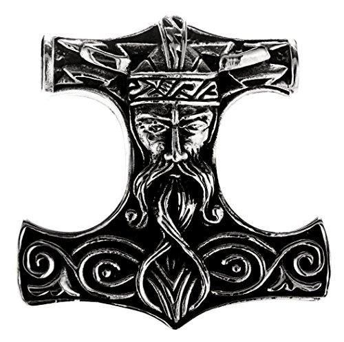 Grande Martello di Thor ciondolo in argento Sterling 925N. 292