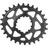 ABSOLUTE BLACK Oval Boost148 - Cadena de tracción con montaje directo, color negro y 3 mm de desplazamiento, 34 t