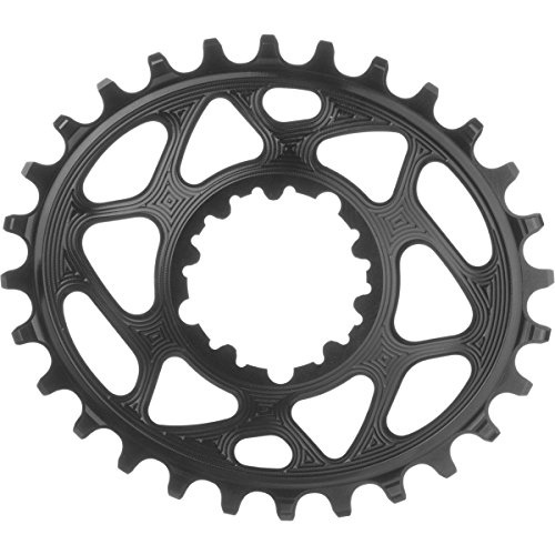 ABSOLUTE BLACK - Oval Boost148 Direct Mount Traction Chainring Black/3mm Offset, 32t
