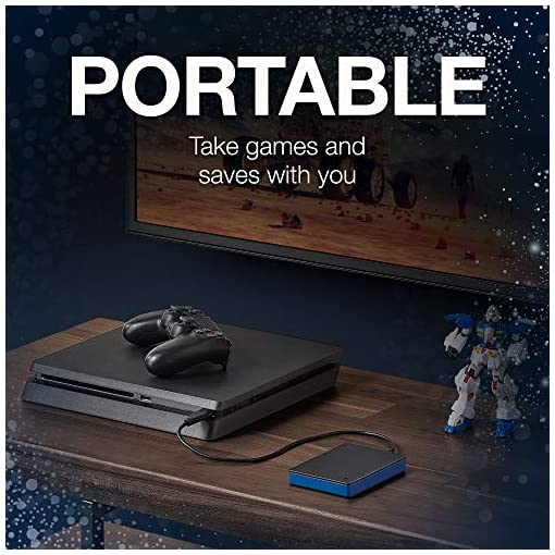 Seagate Game Drive for PS4 2TB External Hard Drive Portable HDD - USB The Last of Us II Special Edition, Designed for… 5