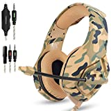 Gaming Headset for PS4 New Xbox one PC Mac, ONIKUMA Over Ear 3.5mm