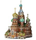 CLEVER PAPER- Puzzles 3D Iglesia del Salvador, San Petersburgo (14110)