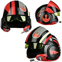 Anovos Star Wars: TFA Poe Dameron Black Squadron Helmet Replica