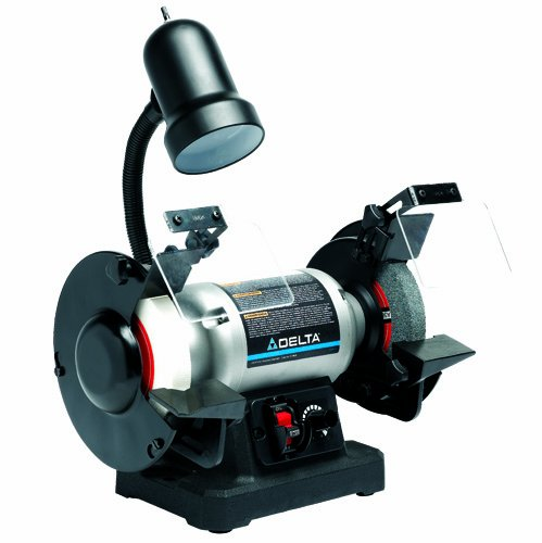 Delta 23-198 6-Inch Variable Speed Grinder with Toolless Quick Change