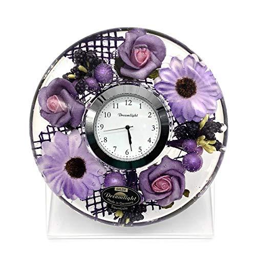 DreamlightドリームクロックUFOミニ 時計セット(台付き)ファッションフラワー CDD7279CL