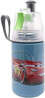 O2COOL McQueen Mist N Sip Water Bottle, 12 oz