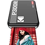 """Kodak Mini 3 Retro Portable Photo Printer, Compatible with iOS, Android & Bluetooth Devices, Real Photo: (3""""x3""""), 4Pass Technology & Laminating Process, Print Higest Quality Photos - Black"""