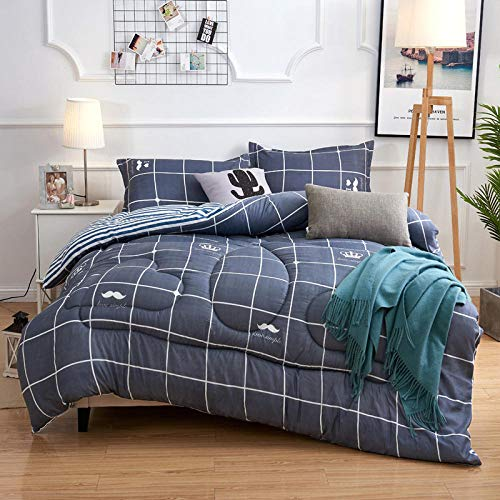 Cactuso Edredon De Verano Cama 180x200,Inicio Textil Imprimir Invierno Espesado CáLido EdredóN De Invierno Un Solo Doble Estudiante Core-A_180x220cm 2500g