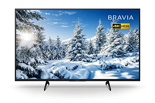 Sony BRAVIA KD43X70 - 43-inch - LED - 4K Ultra HD (UHD) - High Dynamic Range (HDR) - Smart TV with Freeview Play (Black, 2020 model)