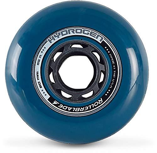 Rollerblade Ruedas Hydrogen Urban 80/85A (8PCS), Adultos Unisex, Azul Petrole, Talla Única