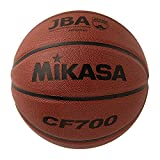 ミカサ(MIKASA) バスケットボール 日本バスケットボール協会検定球 7号 (男子用・一般・社会人・大学・高校・中学) 人工皮革 茶 CF700 推奨内圧0.63(kgf/㎠)