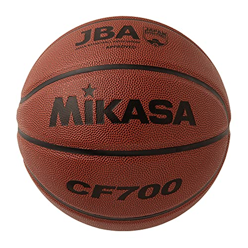 Mikasa Basketball Certification Ball No. 7 (For Boys, General, Corporation, University, High School, Middle School), Artificial Leather, Brown, CF700, Recommended Inner Pressure 0.63 kgf/)