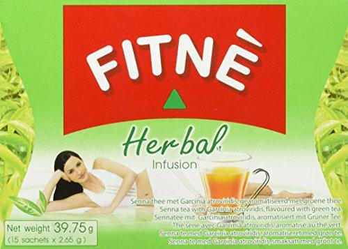 Fitne Tee grün und Sennakraut, 6er Pack (6 x 39.75 g)