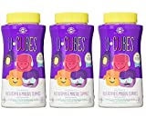 U-Cubes Children's Multi-Vitamin and Mineral Gummies, 120 Gummies (Pack of 3) by Unknown