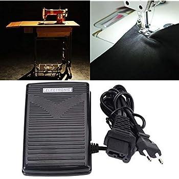 HEEPDD Pedal de Control de pie para máquina de Coser Universal ...