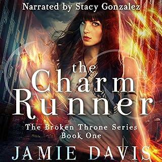 The Charm Runner audiobook cover art