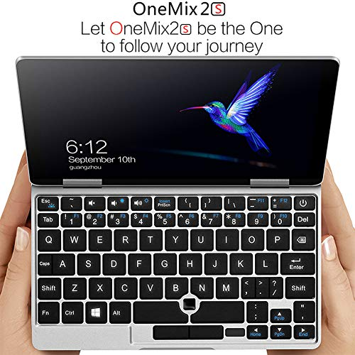 One Netbook One Mix 2S Yoga 7' Pocket Laptop Ultrabook Windows 10 Portable Mini Laptop UMPC Intel Core M3-8100Y Laptop Touch Screen Tablet PC 8GB/256GB+2048 Level Original Stylus Pen