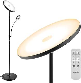 Lampadaire sur pied salon avec liseuse
