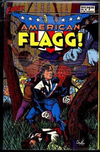 American Flagg! #18 (March 1985) 'Bondage Cover'