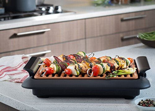 Gotham Steel Smokeless Electric Grill, Portable and Nonstick As Seen On TV! - DELUXE
