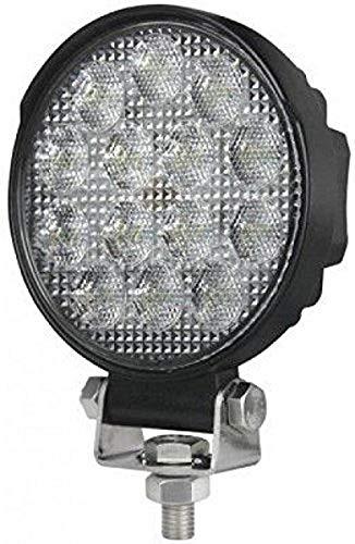 Hella 1G1 357 105-022 Arbeitsscheinwerfer - Round Valuefit - LED - 12V/24V - 2200lm - geschraubt - Nahfeldausleuchtung - offene Kabelenden