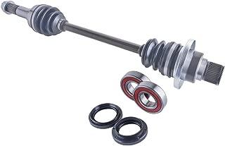 East Lake Axle rear left cv axle wheel bearings & seal kit compatible with Yamaha Rhino 450/660 2006 2007 2008 2009