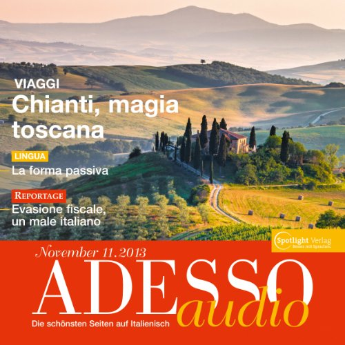 ADESSO audio - Vestirsi in italiano. 11/2013 audiobook cover art