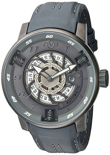 GV2by Gevril moto sport uomo Swiss orologio automatico cinturino in pelle...